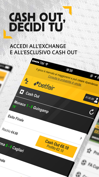 Exchange Wagering