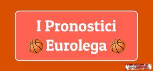 Pronostici Eurolega oggi